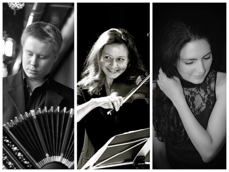 November salon met live muziek Trio Ville Hiltula, Ruzana